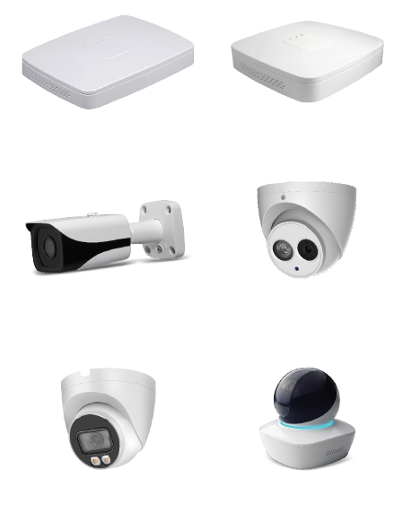 CCTV package upgrade items