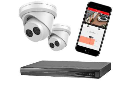 CCTV package Secure Home Systems